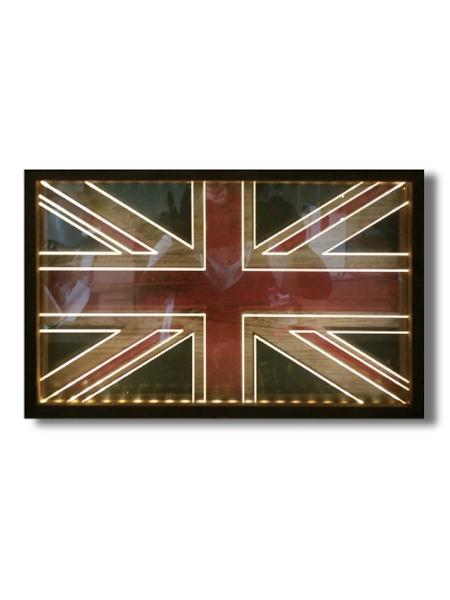 画像1: LED String Light / LEDストリングライト[U.K.FLAG] (1)