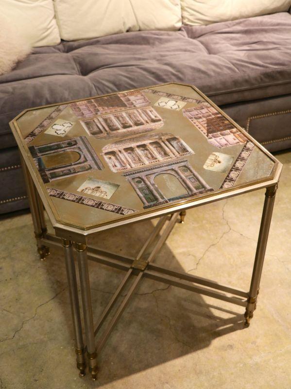 画像1: Metal Table / メタルテーブル[Gold x SIlver] (1)