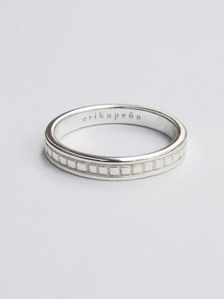 画像1: ★60%OFF★【Erika Pena】Gitana Thin Stack Repyile Ring / レプティルリング[Silver / 7、8号] (1)