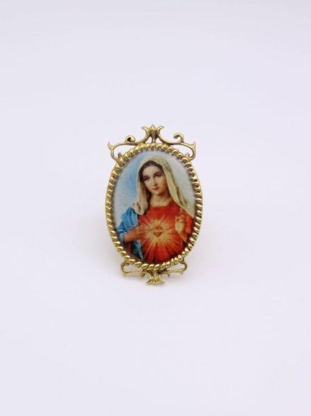 画像1: ★40%OFF★【DEFY JEWELRY】 The Virgin Mary Ring (1)