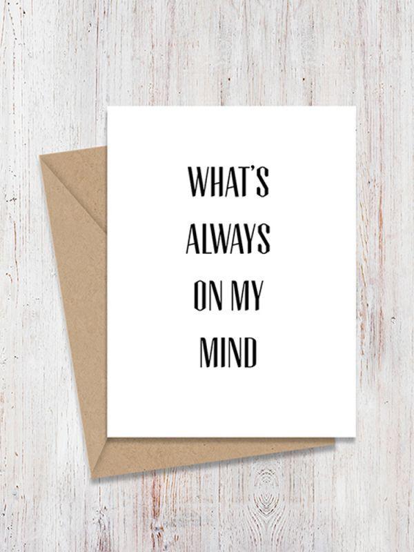 画像1: ★50%OFF★【OH, HELLO FRIEND / オーハローフレンド】MIRROR CARD[ON MY MIND] (1)