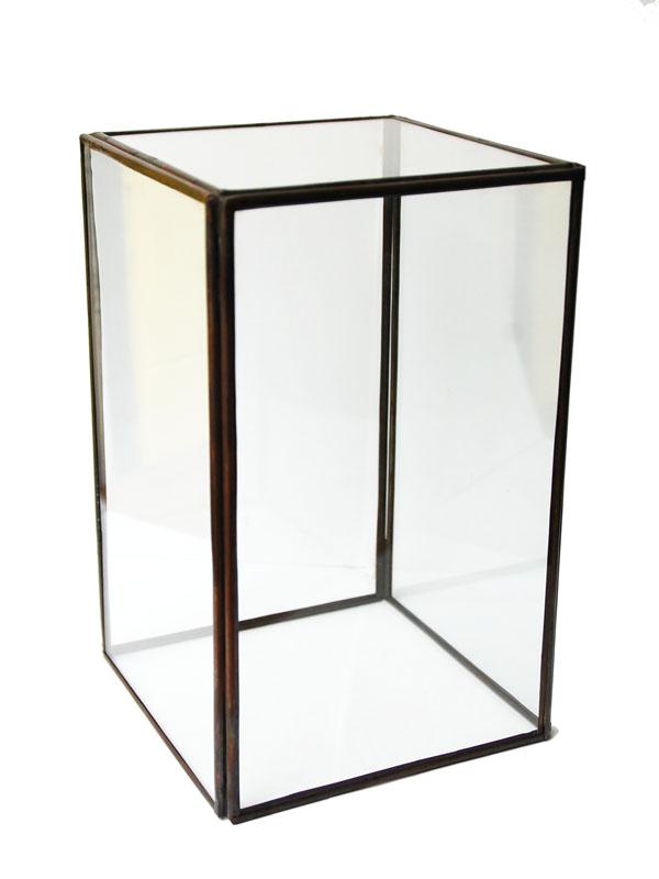 画像1: ★50%OFF★Glass Terrarium/ガラステラリウム[20.5×13×13] (1)
