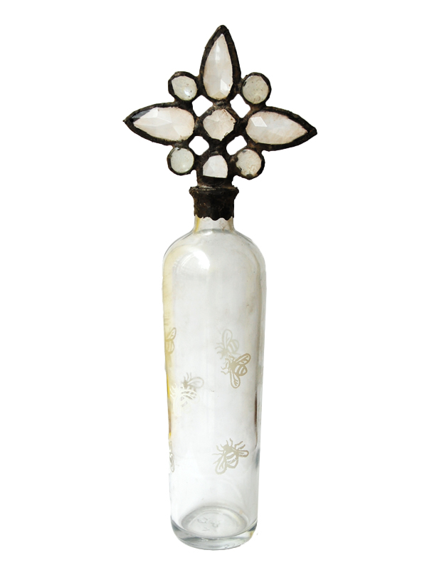 画像1: ★40%OFF★【Vintage】Bottle Object / ヴィンテージボトルオブジェ[Bee] (1)