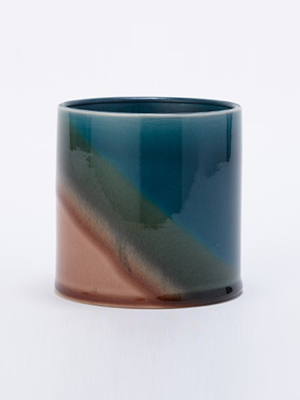 画像1: ★50%OFF★Tyyne Gradation Pot / テューネグラデーションポット[Blue x Green x Brown] (1)