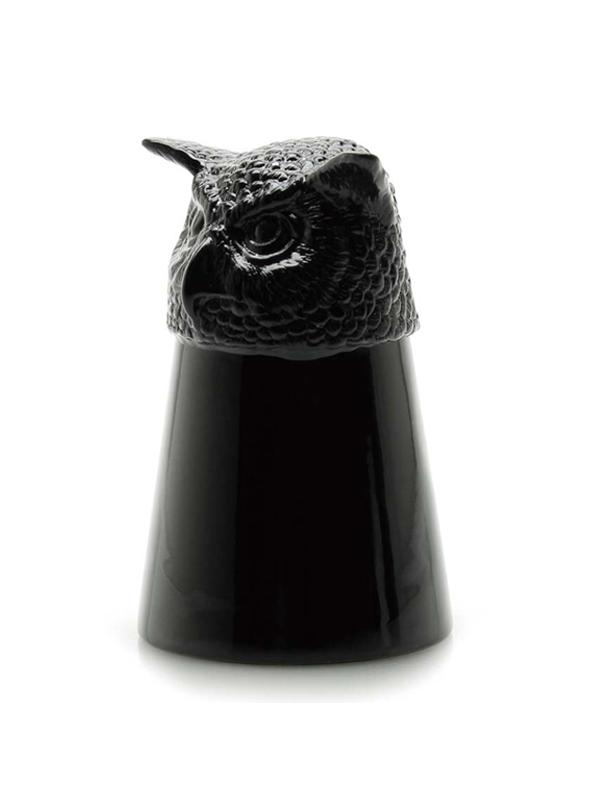画像1: ★50%OFF★【Goody Grams / グッディグラムス】Animal Shot Glass-OWL / アニマルショットグラス[フクロウ] (1)