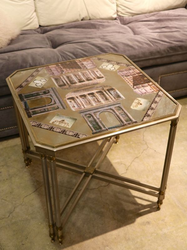 画像1: ★30%OFF★Metal Table / メタルテーブル[Gold x SIlver] (1)