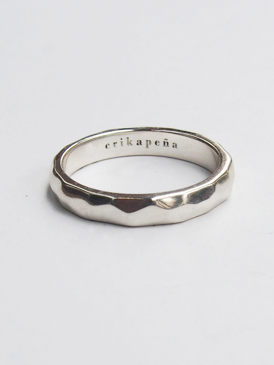 画像1: ★60%OFF★【Erika Pena】 Gitana Thin Stack Snake Ring / スネークリング[Silver / 6、7、8号] (1)