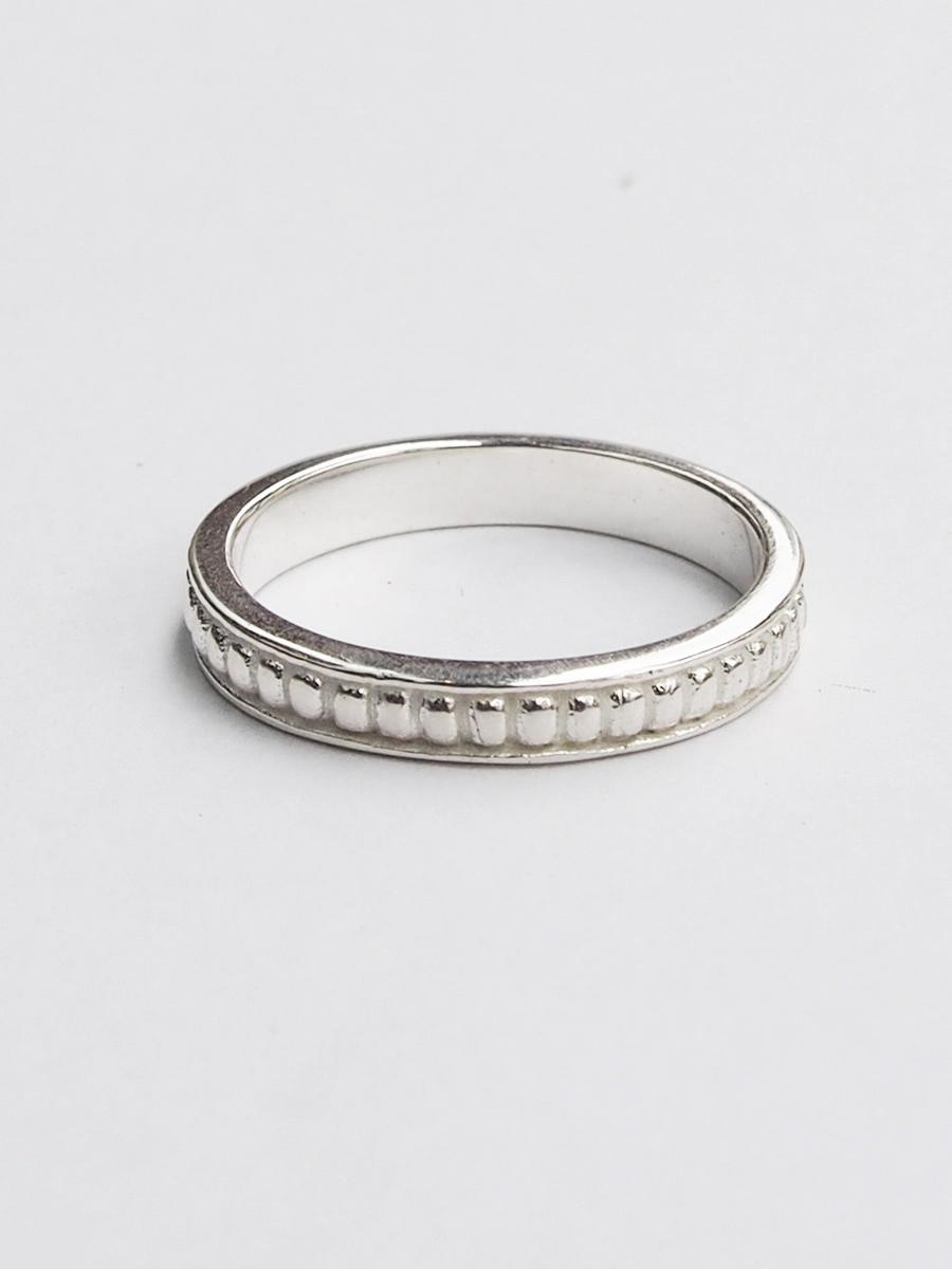 画像1: ★50%OFF★【Erika Pena / エリカ ペナ】 Gitana Thin Stack Pebble Ring / ペブルリング[Silver / 6、7、8号] (1)