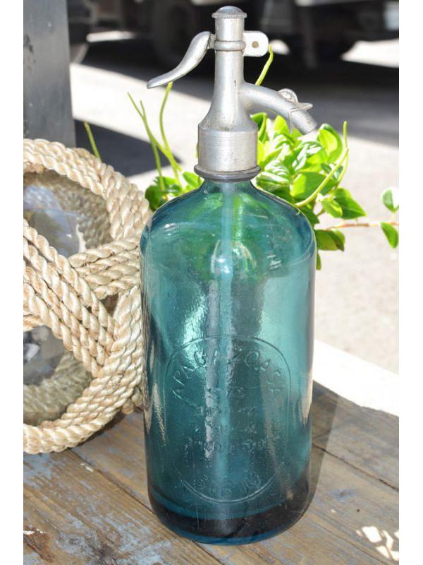 画像1: ★50%OFF★【Vintage】Seltzer Bottle / ヴィンテージボトル[SIBIU] (1)