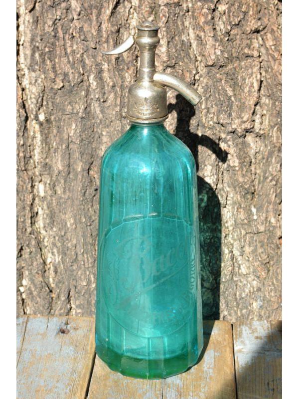 画像1: ★50%OFF★【Vintage】Seltzer Bottle / ヴィンテージボトル[Bacon] (1)