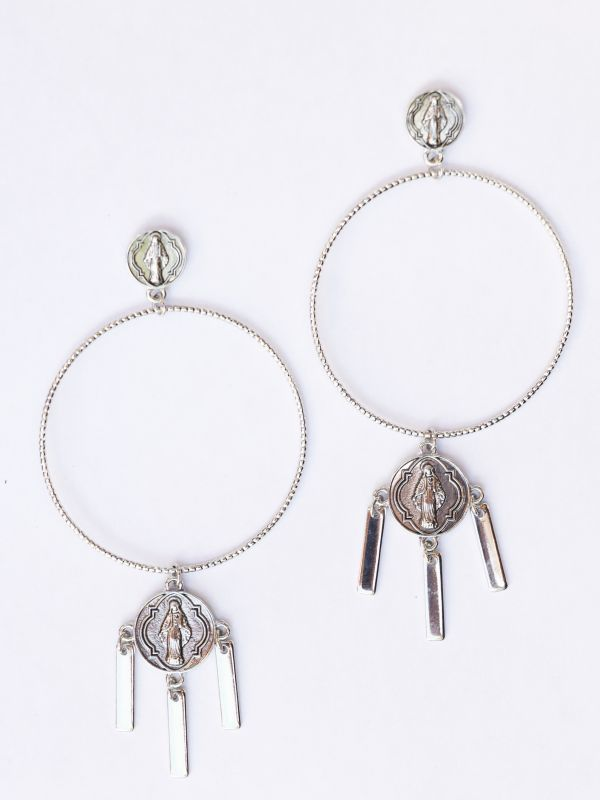 画像1: ★50%OFF★【8 OTHER REASONS】MADDONA EARRING [Silver] (1)