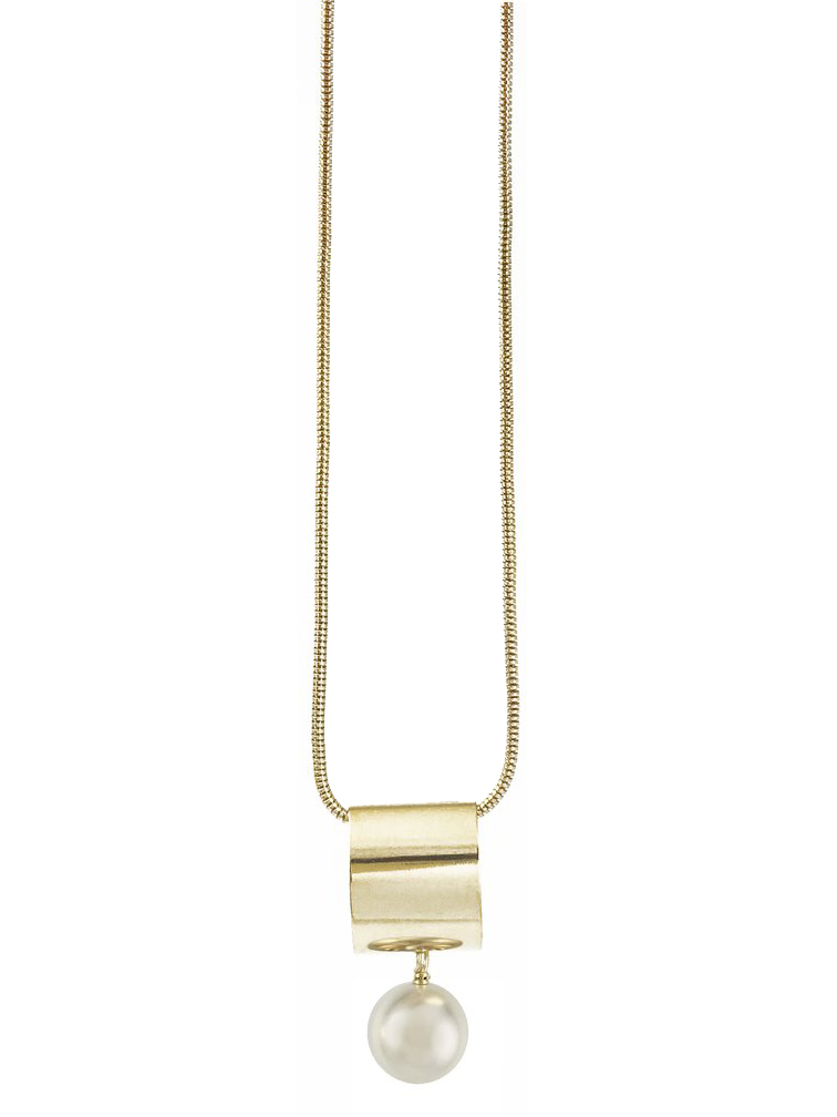 画像1: 【BIKO】FLASH PENDANT [Gold/Ivory] (1)
