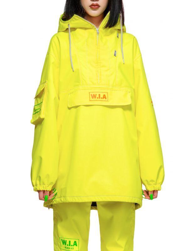 画像1: 【W.I.A】Ray Anorak Neon Jacket 600w アニョラックジャケット[Neon Yellow] (1)