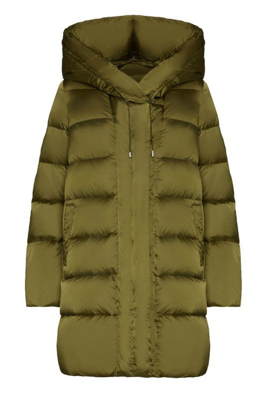 画像1: ★20%OFF★【ADD】HOODED DOWN COAT / フード付きダウンコート[Salvia Green] (1)