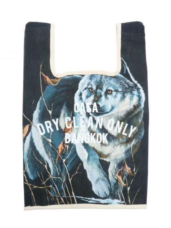 画像1: 【DRYCLEANONLY】Cusom Animal Bag[Wolf-H] (1)