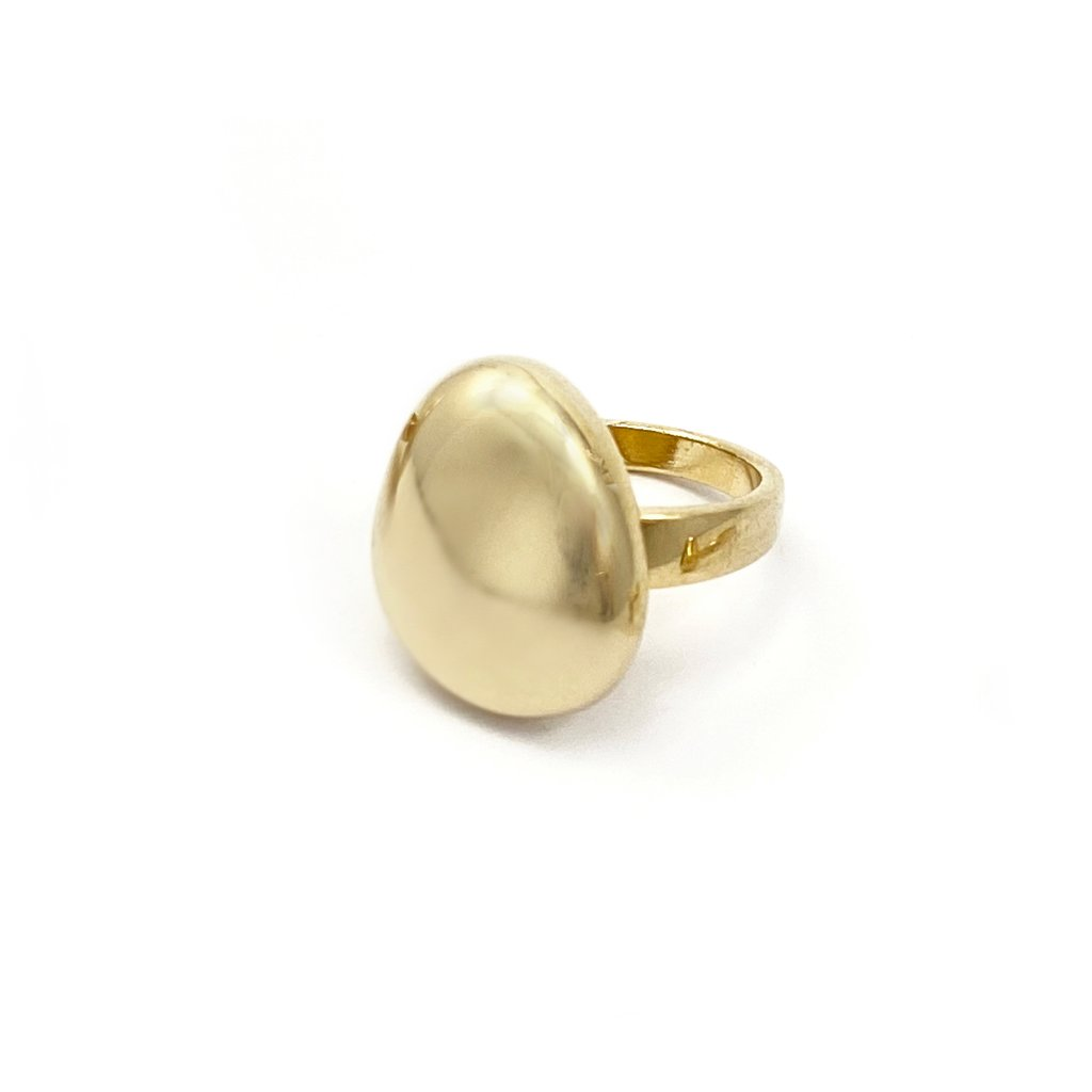 画像1: ★20%OFF★【BIKO】GALINA RING - MEDIUM /ゴールドリング[GOLD] (1)