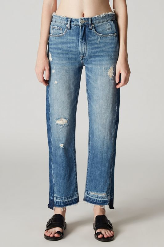 画像1: ★70%OFF★【BLANK NYC】- HOT THOUGHTS - Vintage High Rise Jeans / ヴィンテージハイライズジーンズ (1)