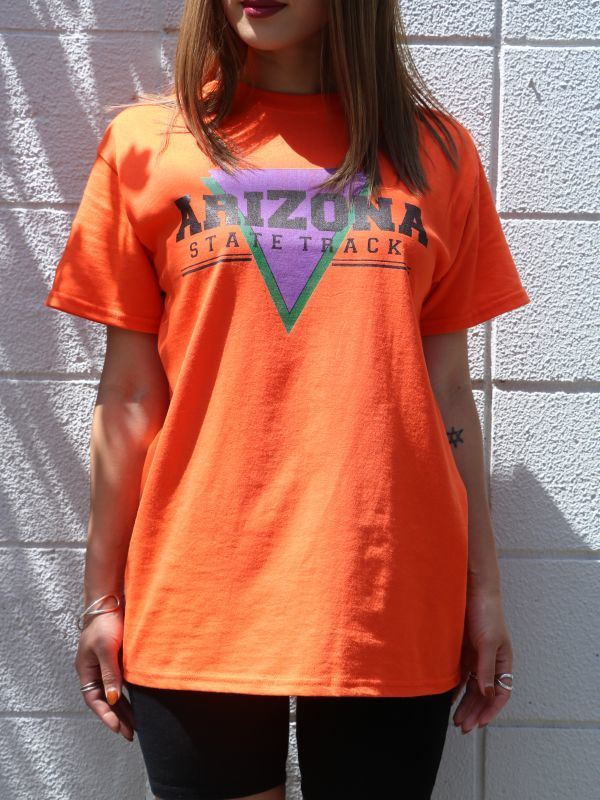"画像1: 【Daisy Street】""Arizona"" Graphic Boyfriend Tee [Orange] (1)"