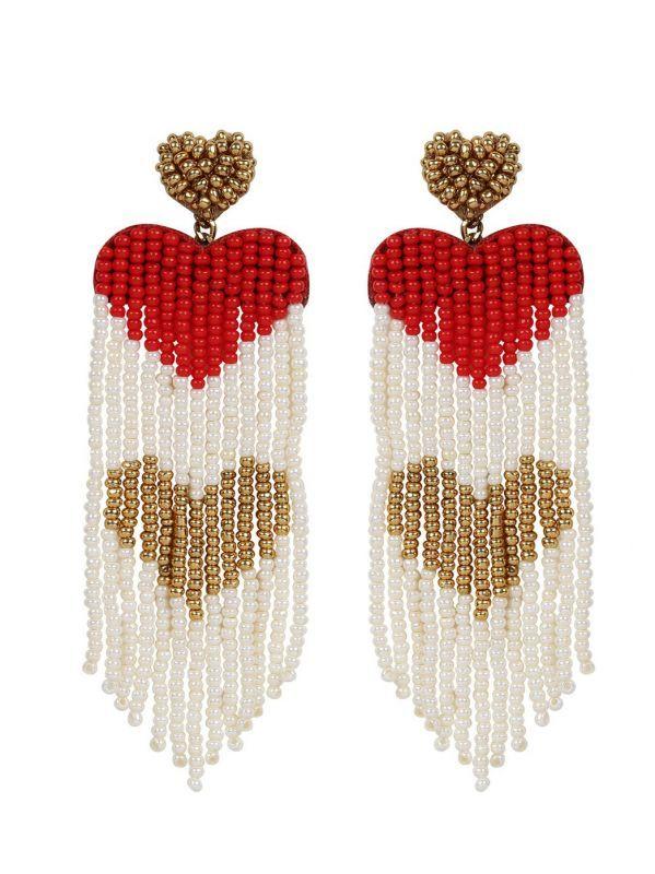 画像1: 【DEEPA GURNANI】Amaryllis Earring[Multi] (1)