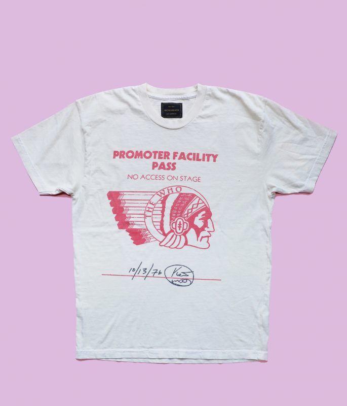 画像1: ★30%OFF★【Retro Brand】The Who Promother Facility  Tシャツ [Ash White] (1)
