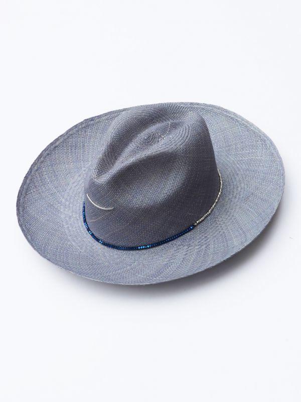 画像1: ★50%OFF★【Van PALMA / ヴァン パルマ】Le Leon / ストローハット[Blue] (1)